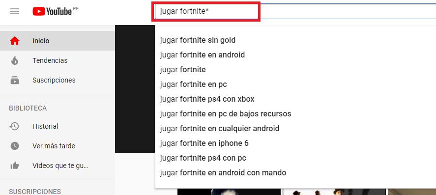 longtail en YouTube